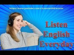 free English listening practice online with Subtitles - Listen English Everyday Listening English, English Speaking Practice, Listen And Speak, English Today, Siri, Conversation, Knowledge, Youtube, Free