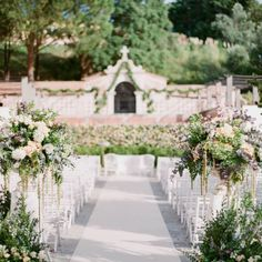 """I would say """"I do"""" over and over again to this idyllic garden setting, perfect for a romantic wedding ceremony."""