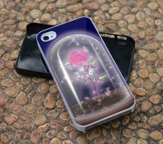 Rose Beauty And The Beast For iPhone 4 Case, iPhone 4s, iPhone 5, Samsung Galaxy S3 I9300 Case and Samsung Galaxy S4 I9500 Case