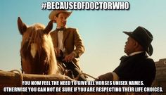 Because of Doctor Who ...