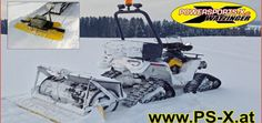 Watzinger: Pistenwalze mit Finisher Für ATVs und Motorschlitten bietet der Winterdienst-Spezialist aus Reichenau in Oberösterreich eine Pistenwalze mit Finisher zum Präparieren von Pisten http://www.atv-quad-magazin.com/aktuell/watzinger-pistenwalze-mit-finisher/