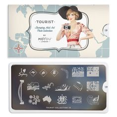 Enjoy new York City inspired stamping nail art plates and travel to London, Australia, France, Spain and all the way to Tokyo via your holiday nail art! Stainless Steel Plate, Image Plate, Holiday Nail Art, Stamping Nail Art, Say Hello, You Nailed It, My Photos, At Least, Nail Polish