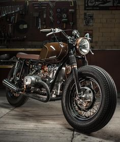 Ural 650 Boxer Custom Cafe Racer Build