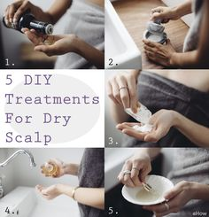 Itching, scratching, shaking—and shedding. Ugh. If you suffer from a dry, itchy scalp, you know the struggle.  Treat yo' scalp and yourself with these five DIY dry scalp treatments. http://www.ehow.com/way_5289630_treatment-dry-scalp.html?utm_source=pinterest.com&utm_medium=referral&utm_content=freestyle&utm_campaign=fanpage