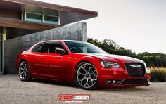Chrysler 300S Coupe Design Study