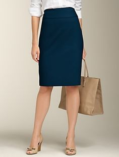 I want to get dressed in a hurry but know I can grab anything and look really put together quickly.   Talbots