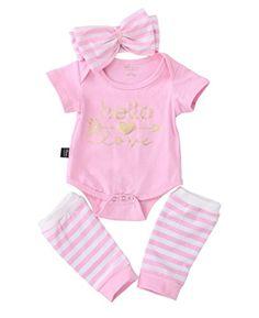 WARMSHOP Toddler Baby Girls Bling in The New Year Birthday Stocking Set Bow Tutu Skirt Hairband Socks 4Pcs Outfits Set