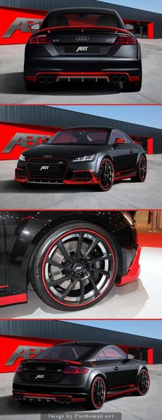 New 2015 Audi TT Earns Its First ABT Tuning Stripes