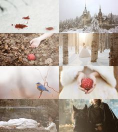 Fairy Tales Picspam→Little Snow White - by Droo216