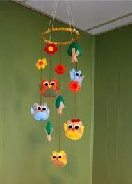 owl mobile- who's at the top of the class....