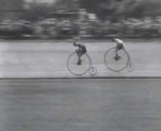 Discover & share this Animated GIF with everyone you know. GIPHY is how you search, share, discover, and create GIFs. Maurice Pialat, Velo Retro, Lambretta, The World Is Flat, Bone Shaker, Vintage Cycles, Vintage Racing, New Bicycle, Penny Farthing