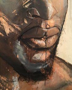 Black Art Painting, Black Artwork, Black Love Art, Black Girl Art, Tableau Pop Art, African Paintings, Black Art Pictures, Cool Art Drawings, Realistic Drawings