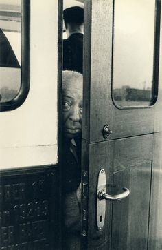 Alfred Hitchcock, picture from the series Vis-à-vis by Robert Lebeck, artist of category MASTERS at photo art editions LUMAS