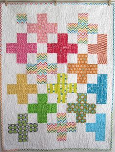 Crosses in a quilt. Beautiful!!