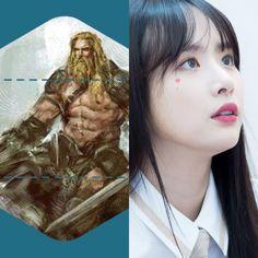 NorseCabins&KPOP // Freyr // SeolA of cosmic girls WJSN