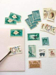 Curate Your Own Set of Stamps 10 Stamps of Your Choice