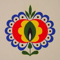 Stencil Patterns, Pattern Art, Pattern Design, Scandinavian Quilts, Goddess Art, Moon Goddess, Goodbye Gifts, Polish Folk Art, Indian Art Paintings
