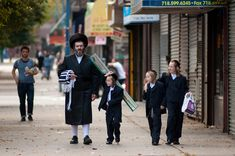 Jewish family enjoying their Sunday. Orthodox Jewish, Rifles, Jerusalem, Israel, Sunday, Family Guy, Kids, Men, Young Children