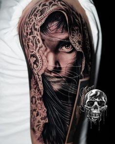 Tatuagem em realismo: encontre tatuadores agora! - Blog Tattoo2me Portrait, Tattoos, Blog, Movies, Tattoo Ideas, Black Style, Tattoo Studio, Realistic Drawings, Get A Tattoo