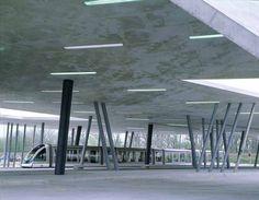 Zaha Hadid : Car Park and Terminus Hoenheim North, Strasbourg, France, 2001