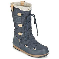 Značka Moon Boot veľmi dobre vie, že treskúcu zimu prežijete iba v týchto snehuliach Moon Boot We Monaco Felt. Tak nečakajte na najhoršie počasie a kúpte si ich už teraz! Na šport či do mesta, nepremokavý zvršok z plátna v modrej farbe vám dodá šmrnc v každej situácii. Počas nepriaznivého počasia oceníte hlavne stielku z plátna, poteší tiež protišmyková gumová podrážka. - Farba : Modrá - Topánky Damy 139,00 eur