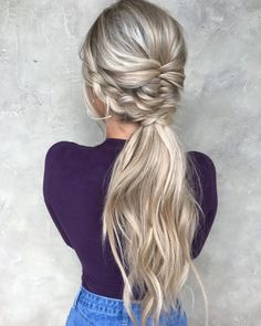 "1,081 Likes, 16 Comments - Braids & Bridal (@taylor_lamb_hair) on Instagram: ""You know me & my obsession with a good pony + C: @hairby_chrissy + @kendy.du"""