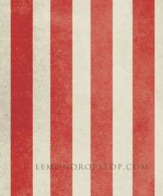 LemonDrop Stop Vintage Circus Stripe | PolyPaper Photography Backdrops | LemonDrop Stop Photography Backdrops and FloorDrops