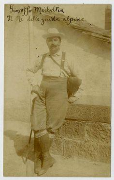 GIUSEPPE MICHELINI-BOLOGNA F159 Vecchia Foto d epoca Old photo Vintage 1900