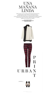 """""""Sin título #836"""" by just-lala ❤ liked on Polyvore featuring Dex, Zara, Alexander Wang and Toast"""