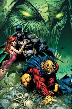Batman and Etrigan the Demon