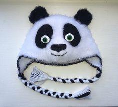 A personal favorite from my Etsy shop https://www.etsy.com/listing/267650902/kung-fu-panda-or-panda-bear-crochet-hat