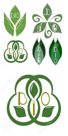 Illustration about Set of five bio emblems. Illustration of industry, creative, five - 69377543 Graphic Design Illustration, Illustration Art, Illustrations, Symbols, Concept, Creative, Vectors, Icons, Logo