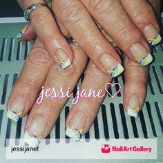 Jjf Nails by jessijanef via Nail Art Gallery #nailartgallery #nailart #nails #gel #gelnails #frenchtips #classic