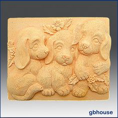 2D Silicone Soap/Polymer Clay/Cold Porcelain by egbhouse on Etsy, $28.00
