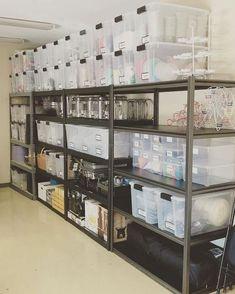 Garage Organization Tips, Storage Room Organization, Diy Garage Storage, Storage Hacks, Garage Storage Solutions, Storage Room Ideas, Garage Storage Shelves, Attic Storage, Closet Storage