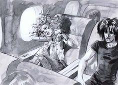 Bocetos de la peli de #Sandman que nunca se hizo.