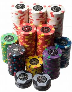 Le Paulson Noir Clay Poker Chips - some of the classiest, highest quality poker chips on planet Earth.if you can find a set for sale. Poker Chips Set, Clay Poker Chips, Poker Set, Gambling Games, Gambling Quotes, Casino Games, Bingo Casino, Casino Poker, Casino Theme Parties