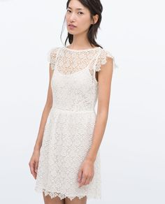 Image 3 of LACE DRESS from Zara