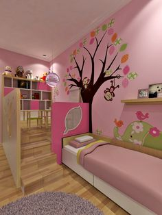 132 cute and girly bedroom decorating tips for girl 21 Baby Room Diy, Baby Bedroom, Girls Bedroom, Bedroom Decorating Tips, Minimalist Home, House Rooms, Girl Room, Room Inspiration, House Design