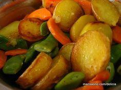 Legumes Assados na Frigideira