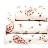 Found it at Joss & Main - 4-Piece Paisley Cotton Sheet Set by Laura Ashley