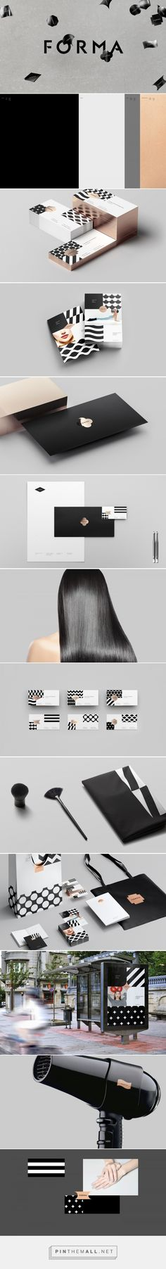 Forma Beauty Shop branding - Mindsparkle Mag - created via https://pinthemall.net