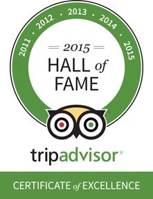 The Villas Bali Hotel and Spa is proud to announce that we have received the Tripadvisor Certificate of Excellence Hall of Fame Award. This is a unique accolade and is only given to businesses that have won the Certificate of Excellence for 5 years in a row.  A big thank you to all those that have shared their holiday experiences with us on Tripadvisor!