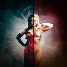 Burlesque Magic - Model: Honey B'Zarre