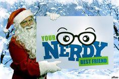 Even Santa needs a Nerdy Best Friend PhotoFaceFun.com