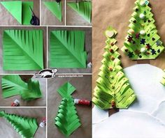 33 (480x403, 176Kb) Easy Paper Crafts, Family Crafts, Craft Projects For Kids, Paper Crafts For Kids, Cute Crafts, Diy And Crafts, Christmas Art, Christmas Projects, Holiday Crafts