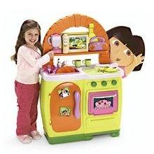 dora the explorer kitchen walmart
