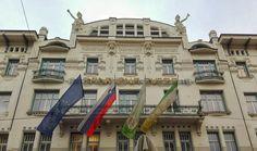 Art nouveau architecture in Ljubljana, Slovenia