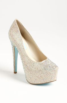 Sparkly heels go with EVERYTHING!