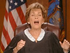 judge judy yelling - Google Search
